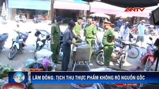 phat hien kho thuc pham ban vo chu o lam dong