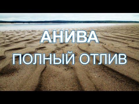 Анива (Песчаное) - полный отлив. Сахалин