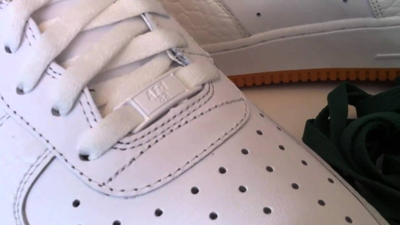 los angeles e0ed2 f1d17 Nike Air Force 1 07 - White  Honeycomb - House of Hoops (HOH)  Foot  Locker exclusive - YouTube