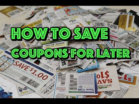 How to Save Your Coupons as a PDF File // Coupon Tutorial Series #1 // Shop with Sarah