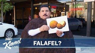 Jimmy Kimmel Demands a Meatball Emoji