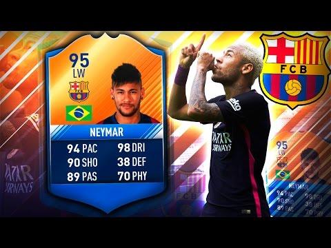 MOTM NEYMAR 95!! BETTER THAN RONALDO? FIFA 17 ULTIMATE TEAM