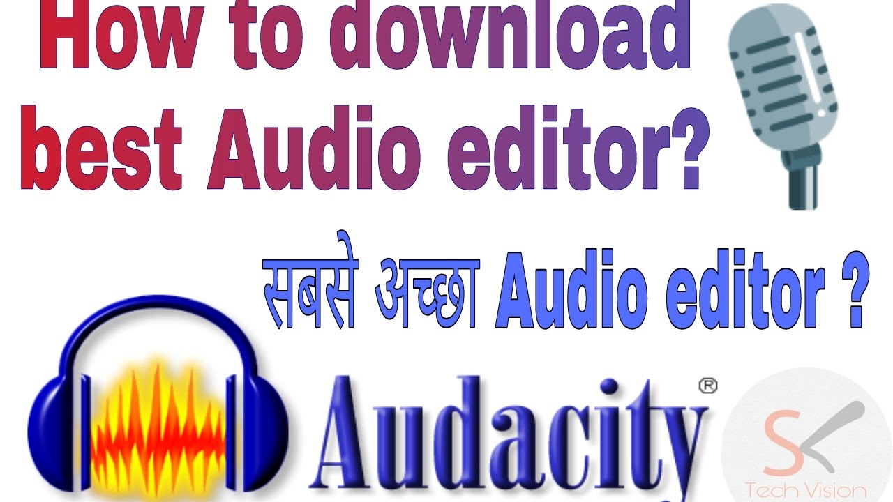 How to record vocals for karaoke   how to use audacity youtube.