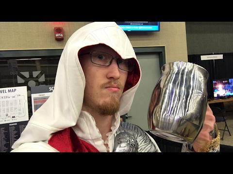 🔴LIVE : NICKEL CITY CON 2017 DAY 2! We Are Ezio Today! Vlog Part 1