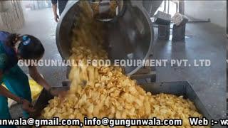 Fully Automatic Chips Making Machine By GUNGUNWALA  www.gungunwala.com