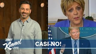 Jimmy Kimmel's Quarantine Monologue – Trump & Vegas Mayor Compete for Who's Crazier
