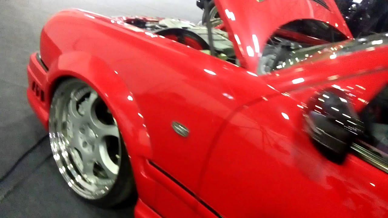 Мерседес compressor kleemann  W210, E55 AMG red tuning