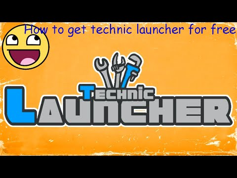 How to get technic launcher cracked version for free on pc
