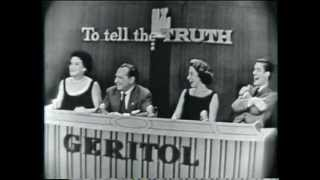 """Phil Rizzuto's child Pat appears on """"To Tell the Truth"""" (January 15, 1957)"""