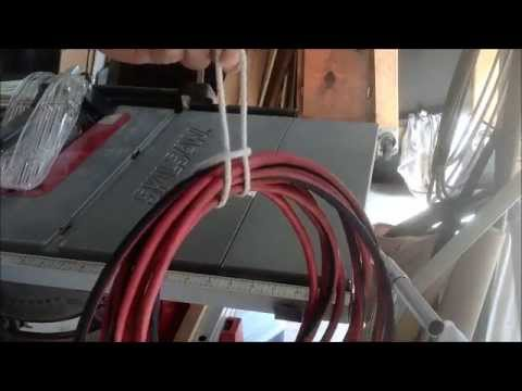 Do-it-yourself extension cord organizer - easy and free! - YouTube
