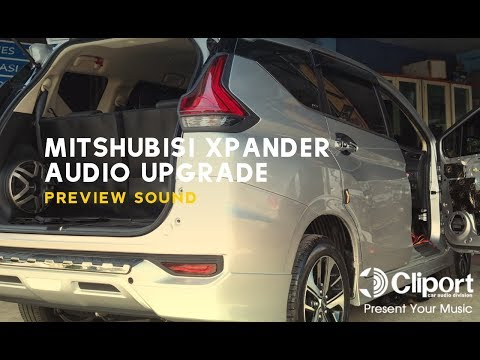 Paket Audio Mobil Mitsubishi Xpander SQ 2way Active System