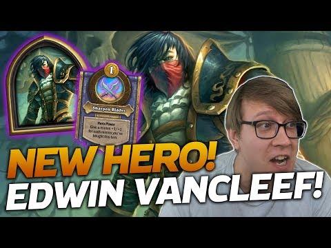 NEW HERO! Edwin VanCleef is GREAT! | Hearthstone Battlegrounds | Savjz