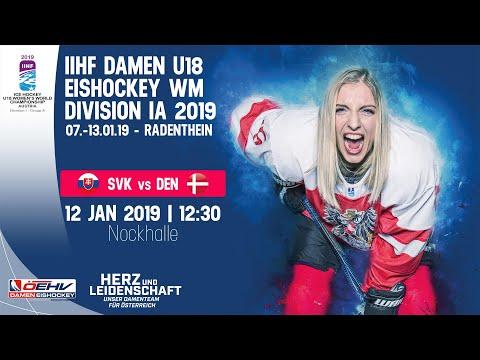 12.01.2019 | 12:30 Uhr | SLOVAKIA - DENMARK