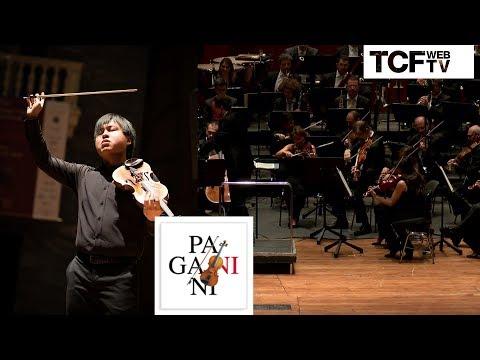 Finale 55° Premio Paganini - Luke Hsu,  Concerto n.1 di Paganini in re M op. 6