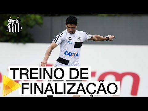 VEJA como foi o TREINO de FINALIZAÇÃO do Santos FC (10/01/18)