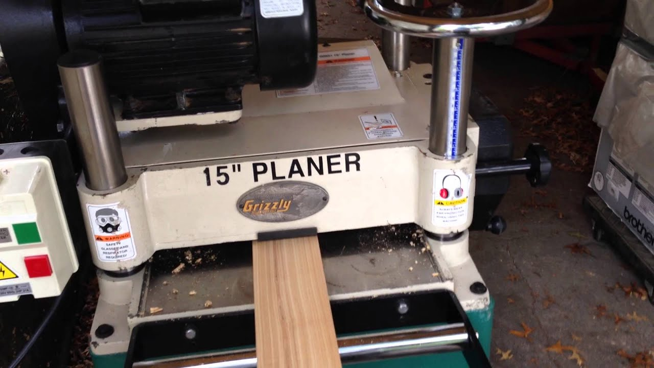 grizzly planer. grizzly planer