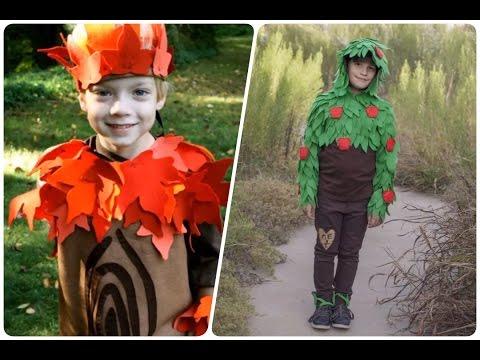 Disfraces de arboles para ni os halloween youtube - Disfraces de pina para ninos ...