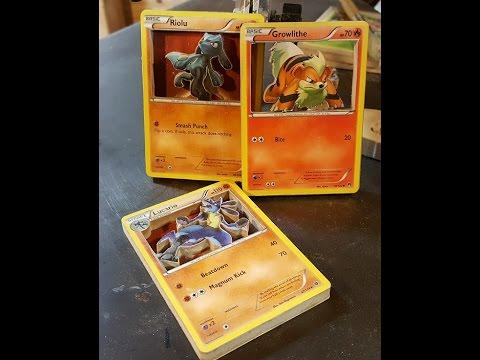 3d Pokemon Cards