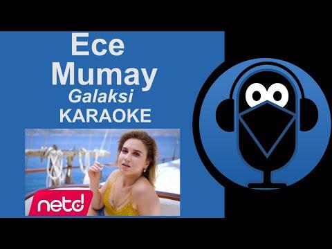 🌟Ece Mumay – Galaksi 🎤KARAOKE / Sözleri Lyrics( Cover )