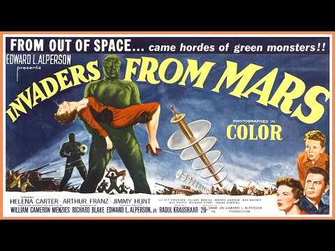 Invaders From Mars (1953) VHS Trailer - Color / 2:17 mins
