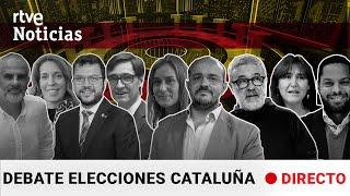 #DebateCATrtve - DEBATE de las ELECCIONES del 14F en CATALUÑA (Programa Completo) l RTVE Noticias