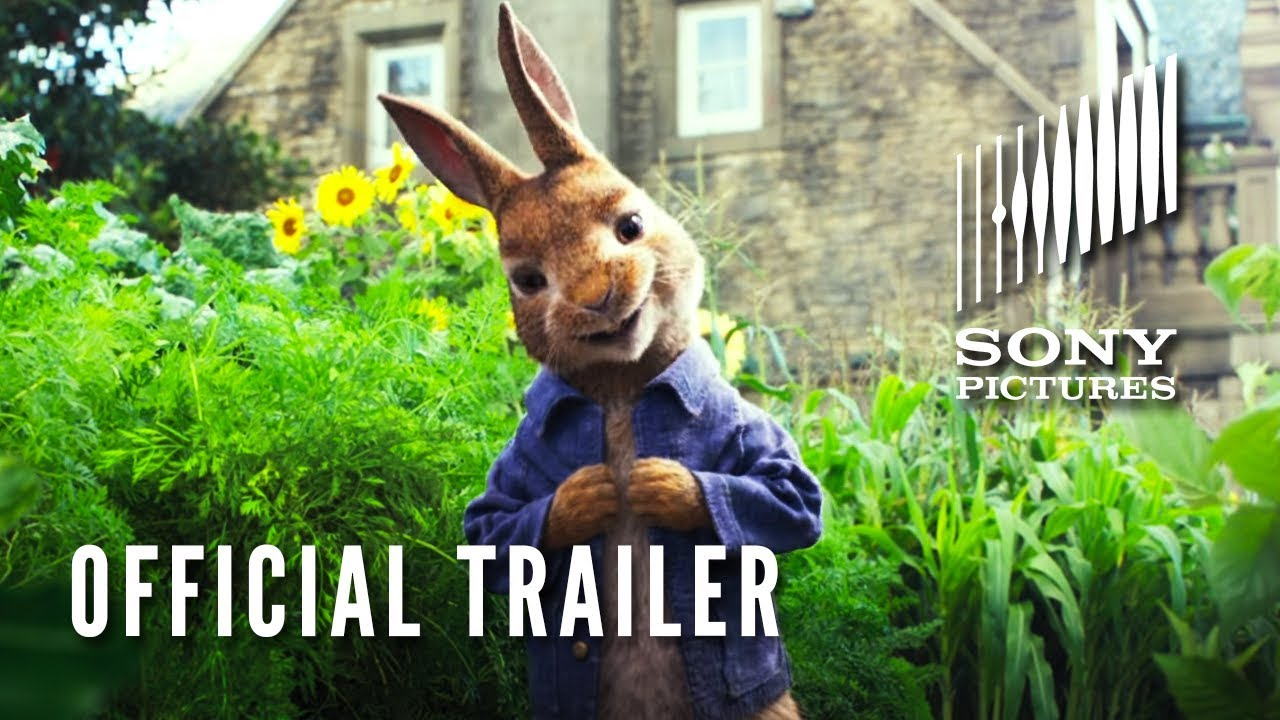 PETER RABBIT - Official Trailer (HD) - What The Film WTF 2017-09-22 04:01