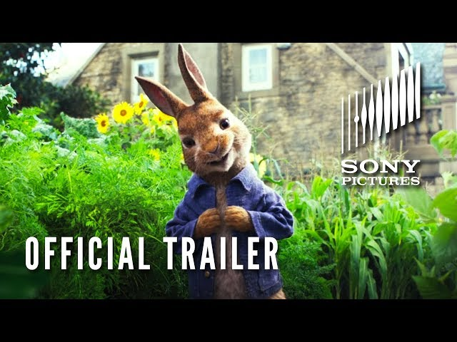 PETER RABBIT - Official Trailer (HD)