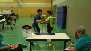 Doubles Sport Stacking World Record 6.209 (Son Nguyen & Nicolas Werner)