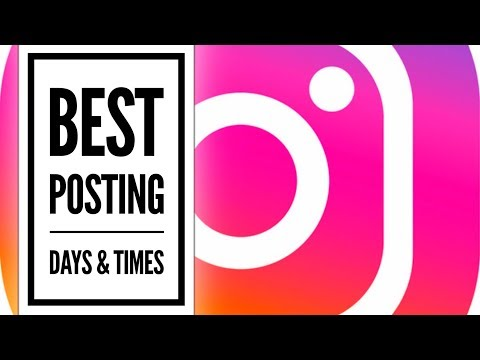 Best Times To Post In Instagram