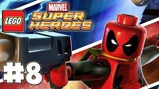 LEGO Marvel Superheroes - LEGO BRICK ADVENTURES - Part 8 - Boss! (HD Gameplay Walkthrough)