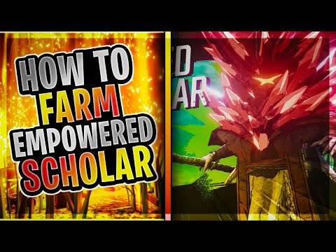 Borderlands 3 │ How To FARM The Empowered Scholar