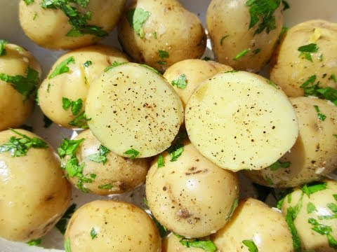 Boiled POTATOES in 15 minutes | BITE-SIZE Root Vegetable |  DIY DEMONSTRATION
