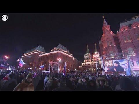 Putin easily wins fourth term as Russian president