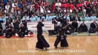 第16回世界剣道 日本対ハワイ Japan vs Hawaii [16th wkc]