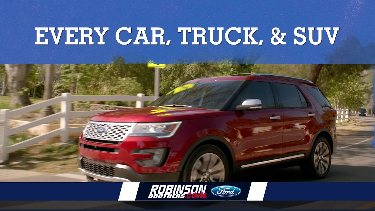 robinson brothers ford summer sales event leather and liner youtube. Black Bedroom Furniture Sets. Home Design Ideas