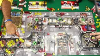 Zombicide Season 3 Rue Morgue and Angry Neighbors - Full Gameplay