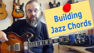 Building chords from the 3rd and 7th