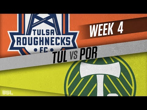 Tulsa Roughnecks FC vs Portland Timbers 2: April 4, 2018