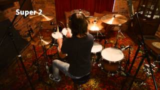 Aquarian Drumheads Demo with Casey Kostiuk  - S2/TCPD14/FB22