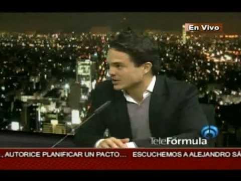 Kuno Becker, con Ricardo Rocha - 30 de Noviembre de 2012