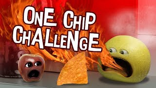 Annoying Orange - One Chip Challenge (Gone Wrong!)