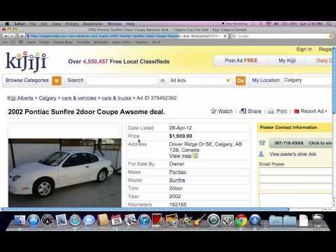Kijiji Calgary Used Cars And Trucks - Vehicles Under $2000 Available