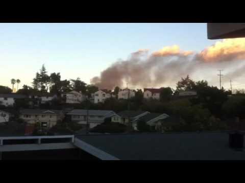 Tesoro fire in Martinez, Ca 11-10-10