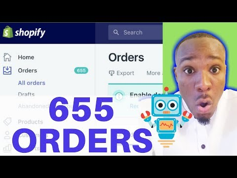 How I Got 655 Orders Dropshipping On Shopify Using Chatbots