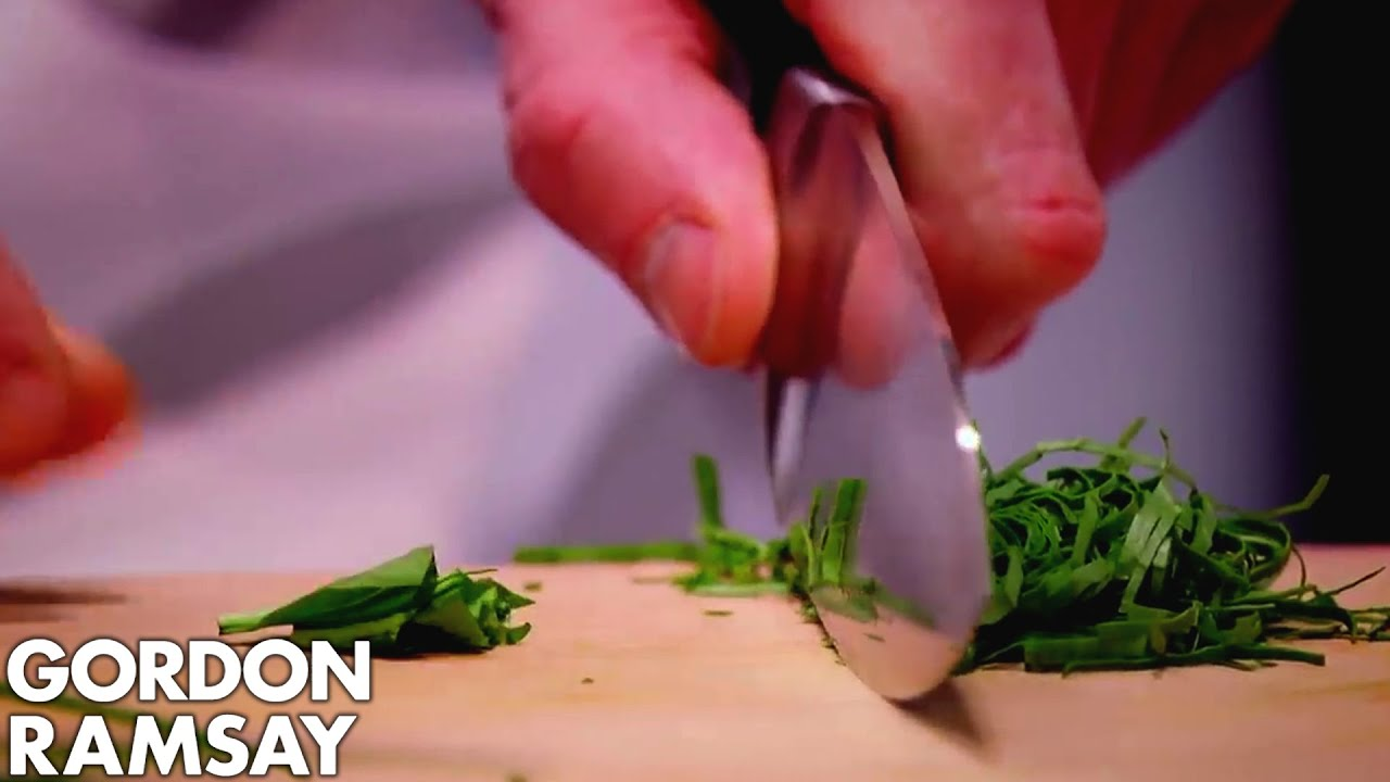 gordon-demonstrates-how-to-finely-chop-fresh-herbs-without-staining-the-chopping-board