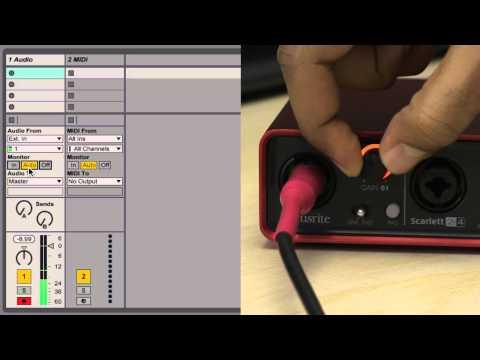 Ableton  9 Tutorial  Part 3: Recording Audio