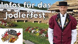 Countdown Jodlerfest Winterthur Wülflingen 2019 Rundgang auf dem Festgelände