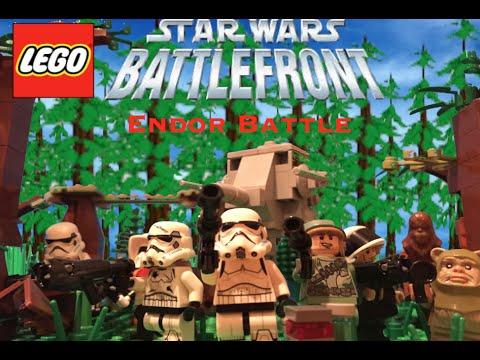 Lego Star Wars Battlefront- Endor - YouTube