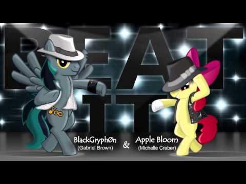 """""""Beat It"""" - Apple Bloom & BlackGryph0n Cover"""