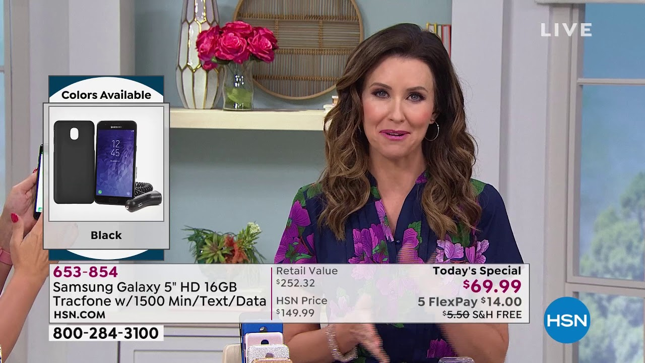 HSN | Electronic Connection Celebration featuring Samsung Tracfone  07 26 2019 - 10 AM